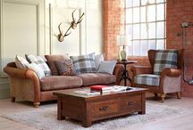 Snuggly Sofas / When it's time to relax and get comfortable there is no better feeling than lounging on a soft sofa. Browse our board for ideas!