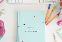 Best Wedding Planner Ever! / I felt inspired to create the wedding guide book that I found myself wishing for whilst planning my wedding. So here it is, your little wedding book, the perfect size wedding guide & notebook that is packed with great wedding advice, tips, questions to ask, checklists, worksheets, & note sections for you to treasure in later years.  You bring the magic, the ideas and the dream (and of course the groom) to create the wedding you'll love, your way!