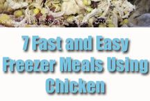 Freezer Meal Ideas