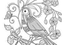 Coloring book / Coloriage