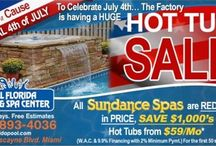 All Florida Pools and Spas Promos / Find the best deals on spas, pools, and hot tubs.