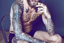 Beards, tattos and styles