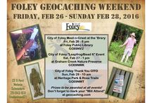 Foley Geocaching Weekend - Feb 26-28, 2016 / The City of Foley & the Foley Public Library are once again co-sponsoring a City of Foley Geocaching Weekend set for Fri, Feb 26 - Sun, Feb 28, 2016.  Please join us for mucho geocaching fun! / by Foley Public Library
