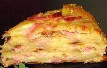 пирог с сыром и Сос на кеыире