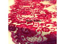 Red tulle / Kebaya
