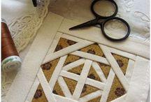 Patchwork / Idee di patchwork e kilt che mi piacciono.