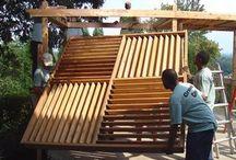 Deck pergola