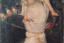 Paintings of Medieval Scenes