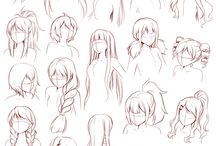 hair styles drawing