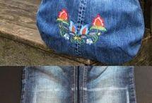 Bolsos de jeans