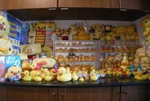 Ducks and chick collection