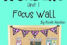 Wonders focus wall