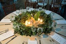 Round tables for wedding