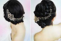 opaski do włosów na ślub / wedding hair band