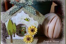 """Tutoriel Carte """"Nichoir - Home sweet home"""""""
