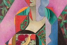 [1883 - 1956] Jean Metzinger - Cubism / Around 1912-23, at the height of the Cubist struggle, Metzinger was without a doubt the member of the group best known to the public, as well as the most representative ('Jean Metzinger seems to be the most far-sighted and skillful of the Cubist militants, aside from Picasso, who was the great discoverer of a new form', André Salmon, Paris-Journal, 19 March 1912).  After the First World War Metzinger - like Picasso and Braque, - turned increasingly to traditional subjects in response to growing interest in the classical tradition. Time has not been kind to this judgment and even Apollinaire, one senses, was ill at ease in his defense: 'A painting by Metzinger always contains its own explanation. This is perhaps a noble weakness...'.