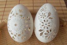 Eastereggs carved