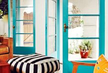 Colorful Home / Inspiration for a home with bright colors