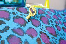 DIY Leopard Print Desk/Charging Desk