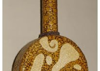 Яичная скорлупка, диски,мозаика