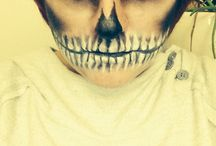 Halloween makeup / by Mike Mennen