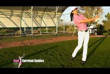 Pars - connected golf swing