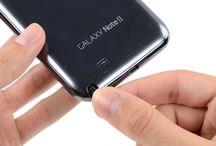 Sustitución del puntero del Samsung Galaxy Note 2