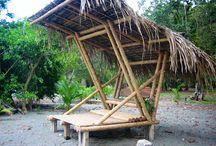 bamboo beach lounge