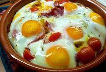 huevos en variedad