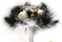 Mariage Noir & Blanc Baroque / mariage thème baroque en noir et blanc #black&white #wedding / by Artesa Créations