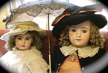 antique dolls / Old dolls are a part of  popular history and culture. The porcelain dolls had a short period of splendour around 1900 and take us back to those times when children played in such different ways.