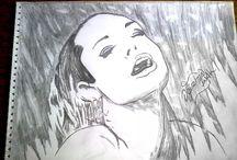 Drawing / Karakalem Çizimleri / Black & White