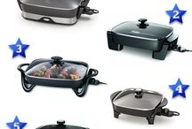 Best Electric Skillets / A collection of the best electric skillets for your kitchen. This is a board created by Relevant Rankings (relevantrankings.com) where we review, rate and rank various products, services and topics.