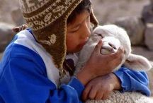 CHILDREN LOVE ANIMALS