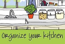 Organize Your Kitchen / People naturally gravitate to the kitchen because it truly is the heart of the home. The kitchen is often an activity hub, handling everything from cooking to homework to visiting with family and friends. It is a multi-tasking space you use every single day—and often several times a day! When your kitchen is organized and set up so it works for you and how you live, it makes every day easier and more enjoyable. / by Aby Garvey | simplify 101