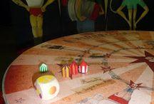 """exposition """"Bidouille Circus"""" / Voici quelques images de l'exposition """"Bidouille Circus"""", qui dons vie au livre jeunesse du même nom, écrit par Caroline Barber et illustré par Marianne Pasquet aux éditions les P'tits Bérets.  + d'infos contactez Marianne (www.atelier-de-marianne.com)"""