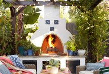 braai and outdoor space