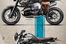 Modified bikes
