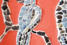 Garden craft mosaic