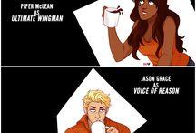 Percy Jackson's universe