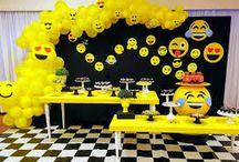 emoji...ideia para festas.