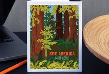 Greeting Cards / Greeting Cards from See America.