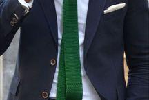 Krawaty na drutach (knity)