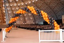 """Balloon Arch Ideas / Nothing screams """"It's time to party"""" like a balloon arch. To see more of our designs be sure to visit our event website at www.mondaymorningballoons.com"""