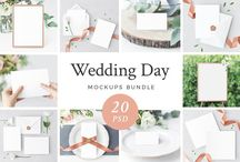 Wedding Invite/ Mockup/ Stationery / Beautiful affordable prints for your wedding day, special occasions.