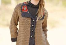 crochet con lana