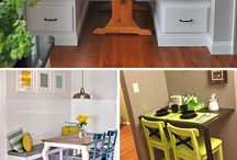 Dining room organization/ideas