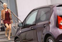Autfit a Seat Mii by Cosmopolitan / Jak se sladit s fialový Seatem Mii by Cosmopolitan? Speciální edice na přání čtenářek Cosmopolitanu je ideálním dámským autem do města! Autfit neboli outfit. :-)