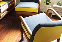 Retro chairs upcycling