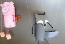 игрушки на веревочках